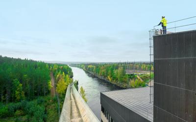 IoT parantaa ennakointia vesivoiman kunnonvalvonnassa